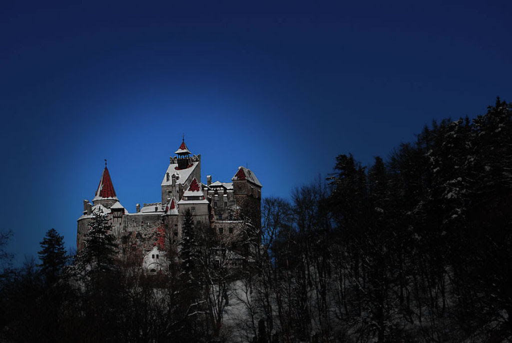 Lugares famosos sob o manto da noite 18