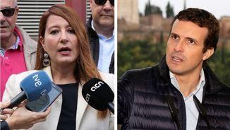Sonia Sierrra i Pablo Casado (ACN/EFE)