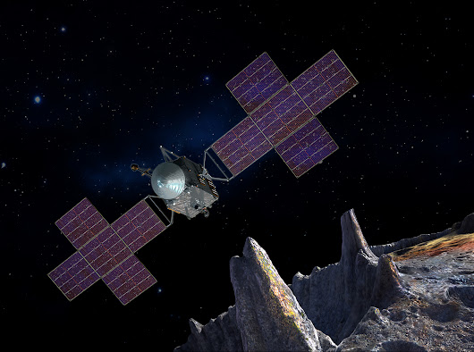 NASA Moves Up Launch of Psyche Mission to a Metal Asteroid