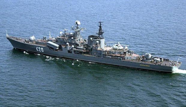 Mengenal Kapal Destroyer Kelas Sovremenny Milik Rusia