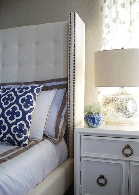 Modern Glamour Master Bedroom - contemporary - bedroom - san ...