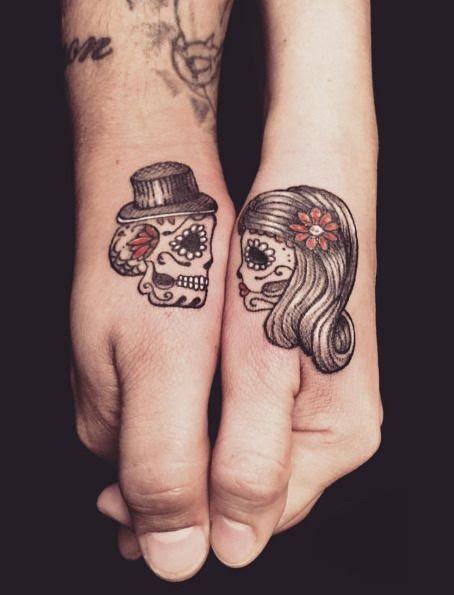 Tatuajes Calaveras Parejas 1 Catrinas10