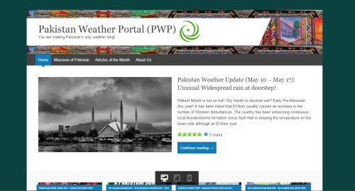 Pakistan Weather Portal: From Fame to a New Generation!