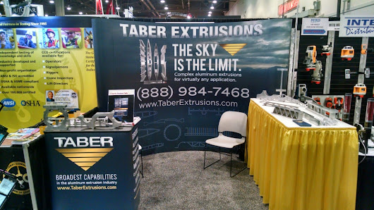 Come Check Us Out at World of Concrete - Taber Extrusions