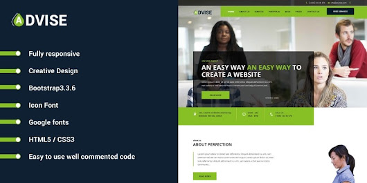 Advise - HTML Website Template