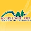 Two of the Rogers-Lowell Area Chamber of Commerce Awards
