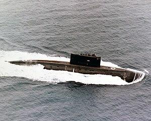 Sottomarino Classe Kilo nel 1987
