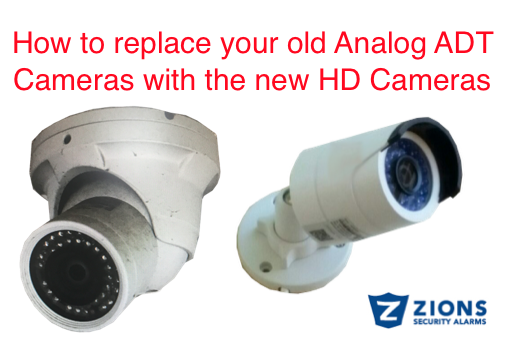 How Do I Replace My Old ADT Cameras with New HD Cameras with 1080