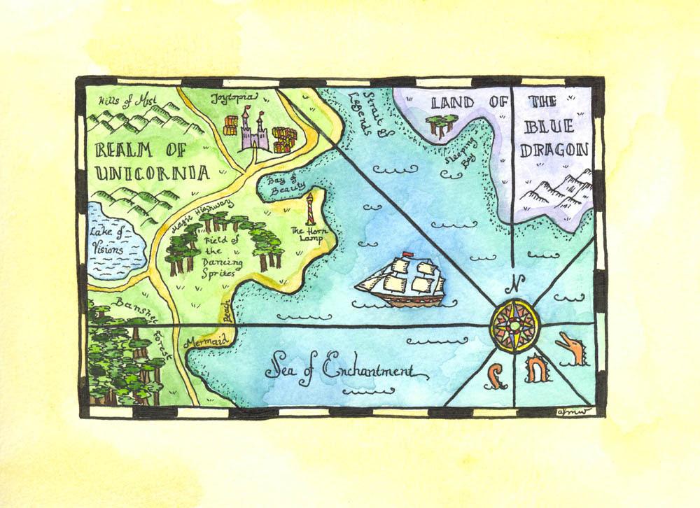 Realm of Unicornia Map