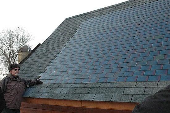 Solar shingles dow
