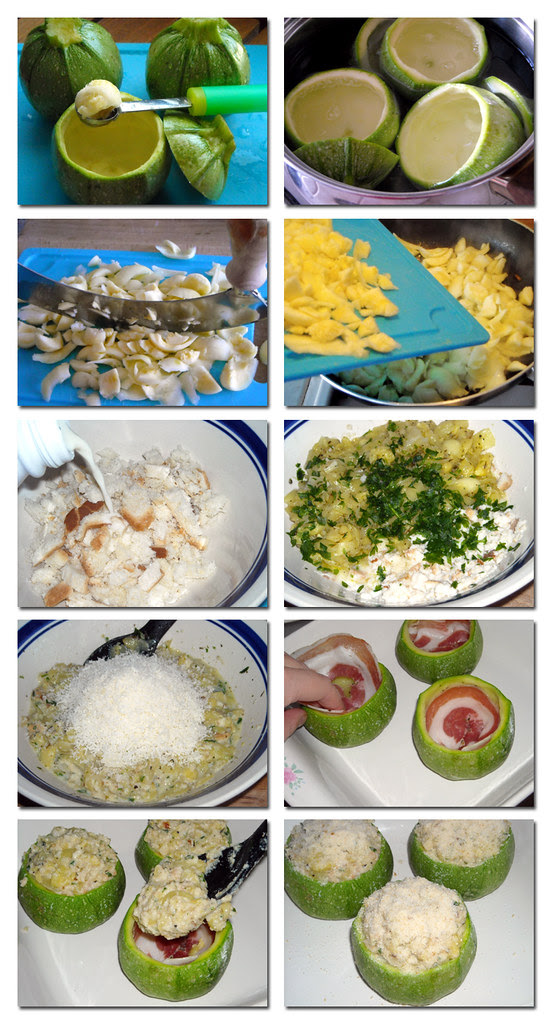 preparazione zucchine