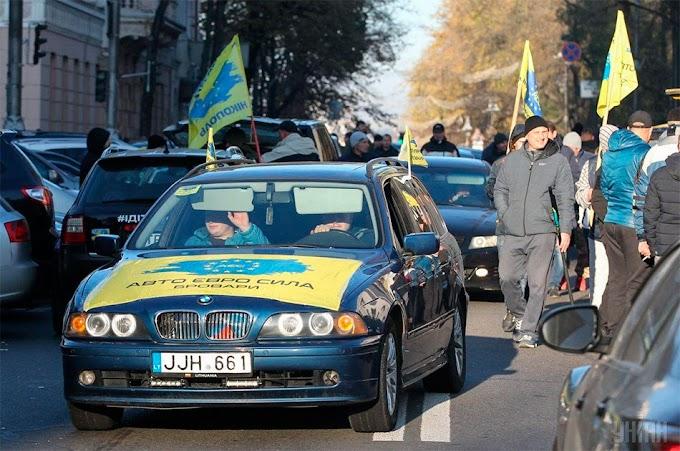 Украинцы, санитары европейских автосвалок