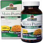 Natures Answer Muira Puama, Bark, Vegetarian Capsules - 90 capsules