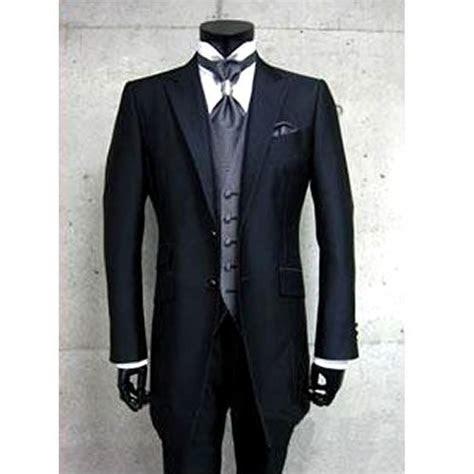 custom mens black italian wedding prom dress suits tuxedos