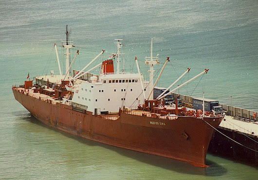 """New"" Reefer Ciku - Cargo from the Past - Dover Ferry Photos"