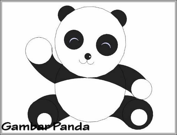 25 Inspirasi Keren Sketsa Gambar Hewan Panda Lucu Asiabateav