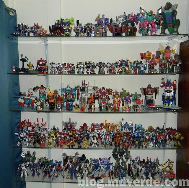 Mi colección de Transformers (05-Abr-2012) - Estante 1 - G1 / Classics / Universe / United / Generations / Decepticons
