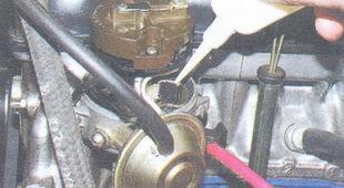 статья про смазка распределителя зажигания (трамблера) ВАЗ 2106