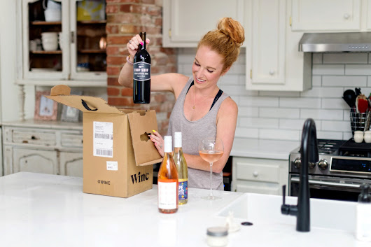 WINC Wine Review - Wine Subscription Box - The Pink Envelope