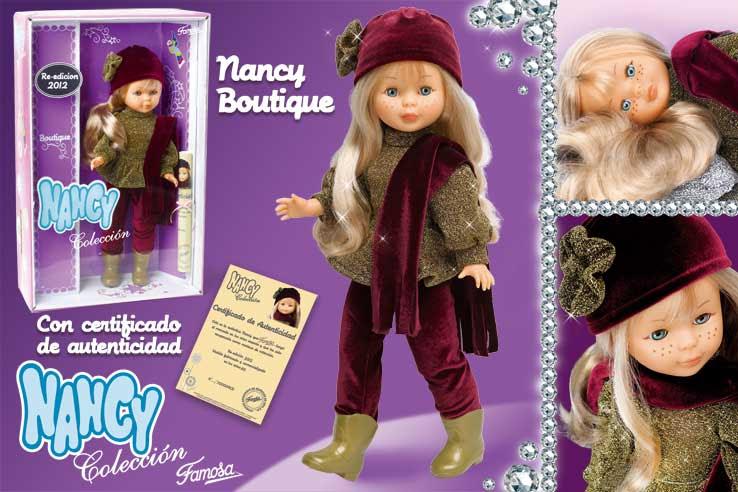 Foto muñeca Nancy colección Boutique reedición 2012