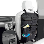 """7""""x19"""" Back Seat Organizer with Cooler Black - Turtle Wax"""