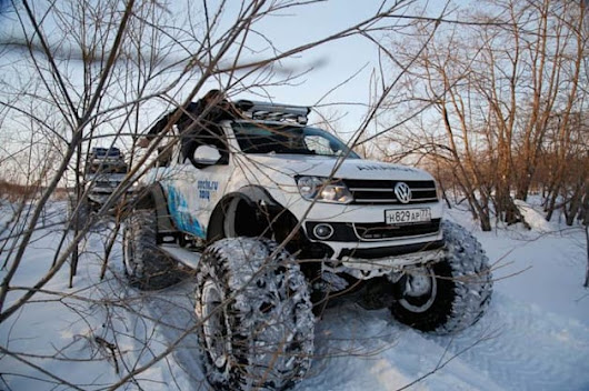 The coolest official vehicle of the Sochi Winter Olympics comes from VW