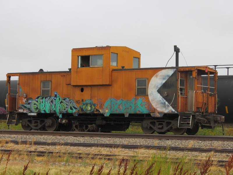 CP caboose 434412 in Regina
