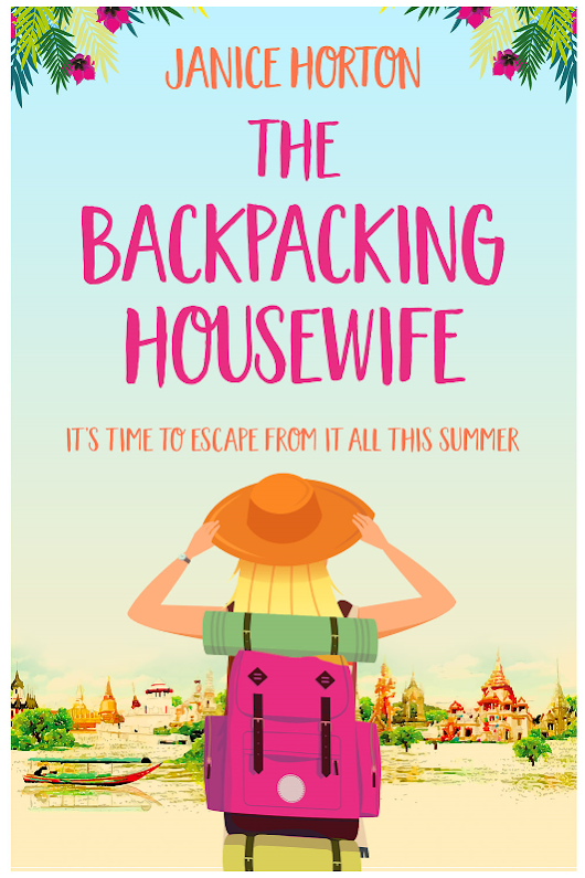 The Backpacking Housewife - Cover Reveal day!