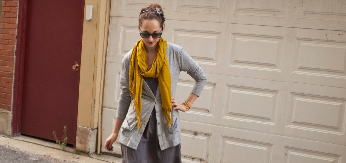 detail, outfit shot, scarf, printed headband