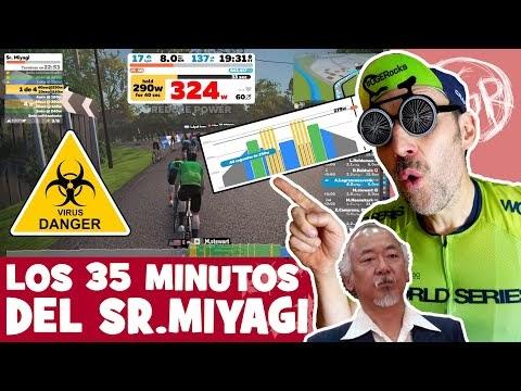 Cuarentena de rodillo... Los 35 MINUTOS del Sr. Miyagi. ¡NOS QUEDAMOS EN CASA ENTRENAMOS JUNTOS! - Alfonso Blanco