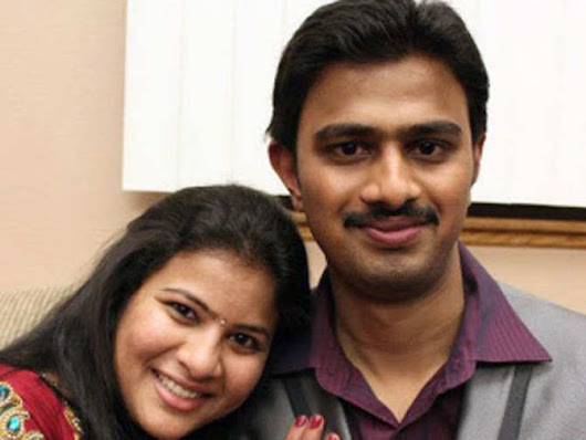 Wife of Indian shot dead by American asks 'do we belong here'