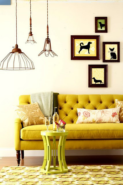 Mustard Couch 1
