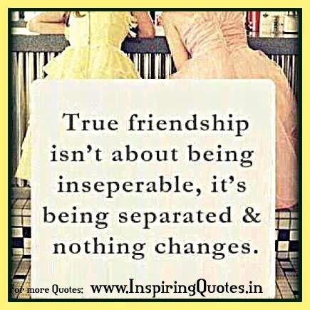 Friendship Inspirational Thoughts In English
