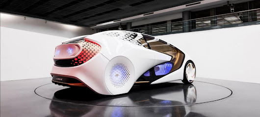 CONCEPT-I by Toyota - is it Danish SEO or the Future of Cars?