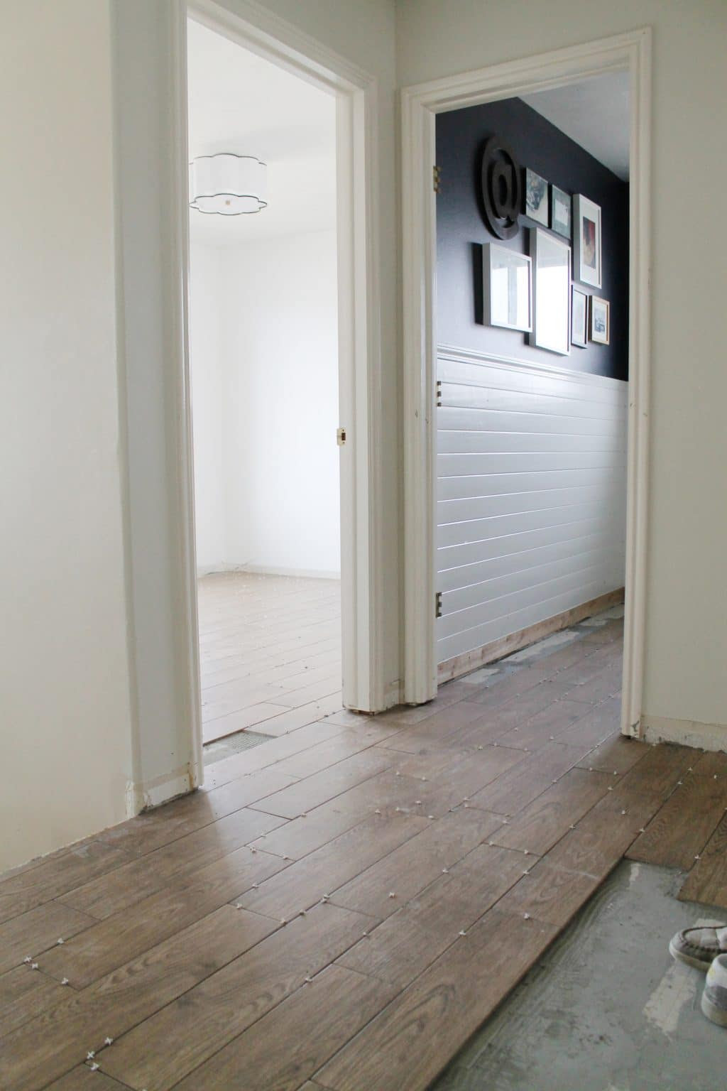 Tips for Achieving Realistic Faux Wood Tile - Chris Loves ...