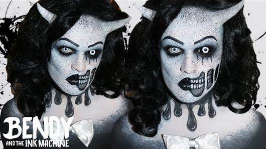 Makeup And Machine Evil Ink Bendy