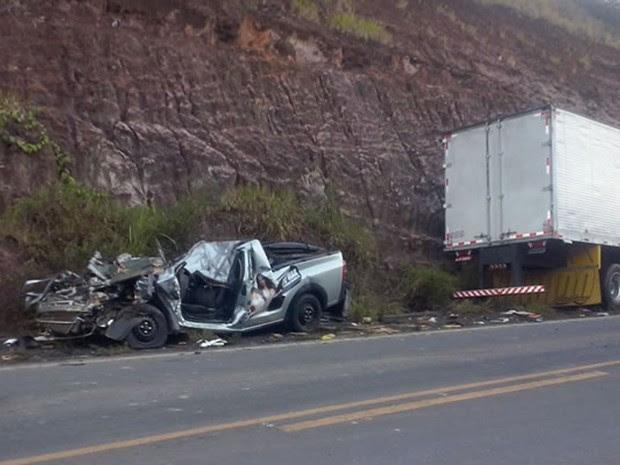 Passageiro de 17 anos morreu em acidente no sul do estado (Foto: Tyago Ramos/ Teixeira News)