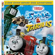 Living At The Whitehead's Zoo: Thomas & Friends: Spills and Thrills DVD Giveaway and Coloring Sheet