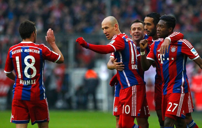 Bayern de Munique x Hamburgo