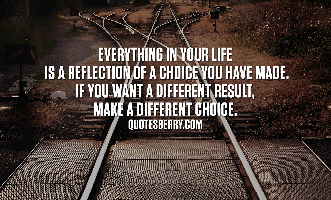 Quotes About Choices Success 66 Quotes