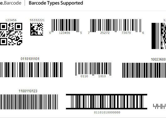 Free .NET Barcode Component - Generate, Read and Scan 1D 2D Barcode Images in C#,  | Spire.BarCode