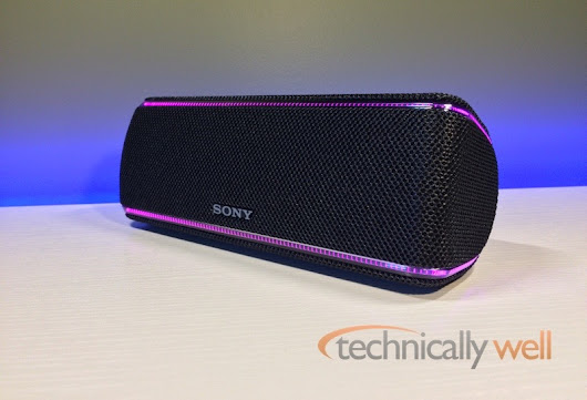 Sony SRS-XB31 Bluetooth Speaker Review