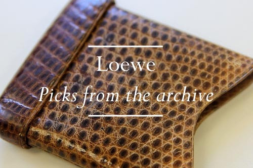 Loewe - Archive Feature