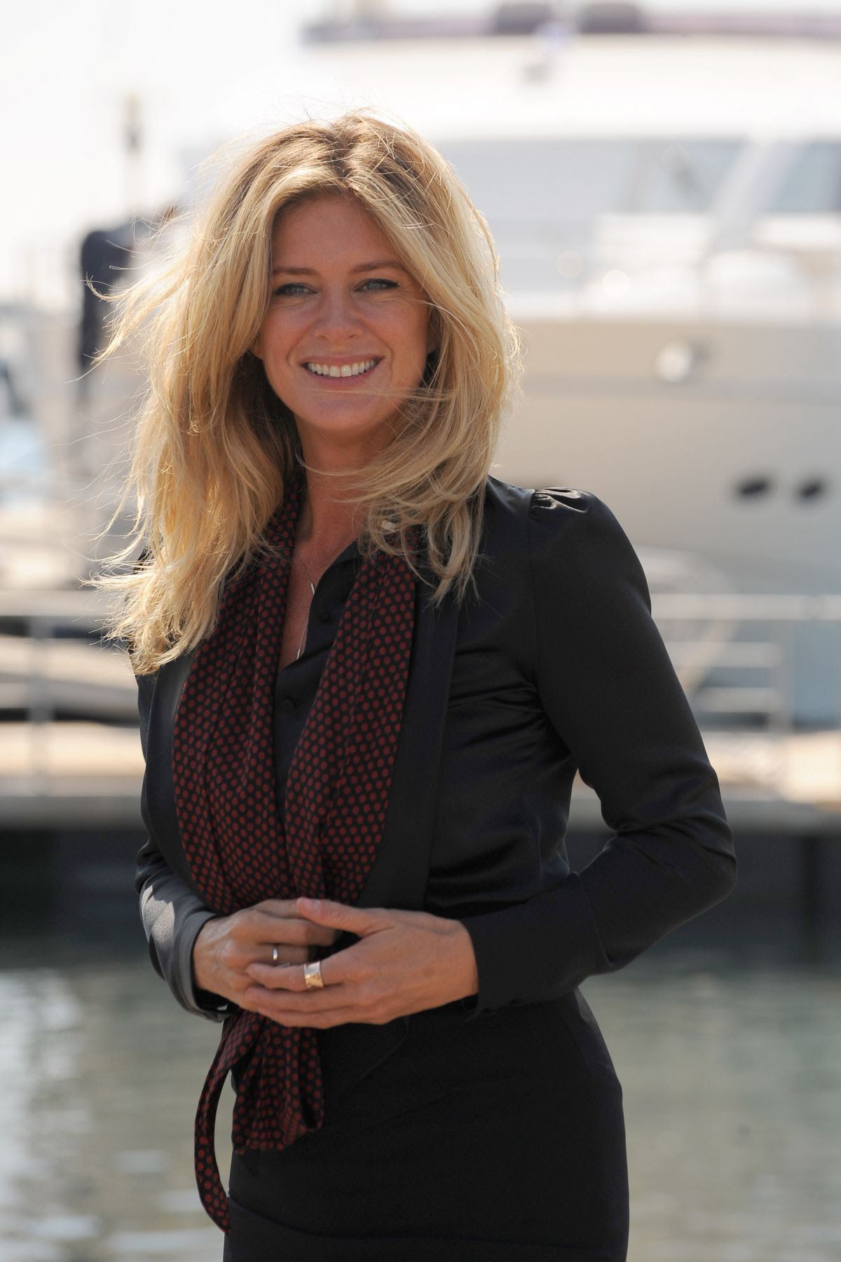 RACHEL HUNTER at Rachel