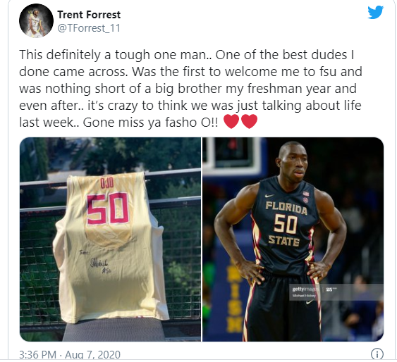 Nigerian basketball player, Michael Ojo dies at 27 after suffering a heart attack during training in Serbia