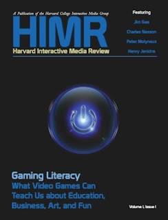 Cover image of issue 1 of the Harvard Interactive Media Review