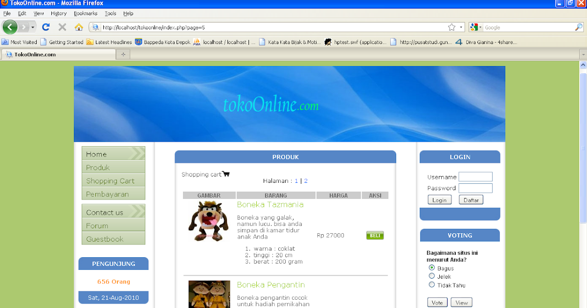 Contoh Database Mysql Penjualan - Contoh 317