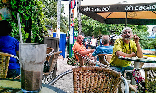 Ah Cacao Chocolate Cafe, Playa Del Carmen MEXICO - Best Little Coffee Shops