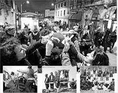Το Μπακλαχοράνι άρχιζε την Καθαρά Δευτέρα και το γλέντι των μασκαράδων συνεχιζόταν σαράντα μέρες, μέχρι και το Πάσχα,  αντίθετα με τους εορτασμούς της Αποκριάς σήμερα, οι οποίοι τελειώνουν την τελευταία Κυριακή της Αποκριάς