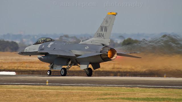USAF F-16C Avalon Air Show XII